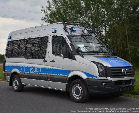 Policja Mińsk Maz.: Policjanci na finale konkursów o bezpieczeństwie w SP nr 6