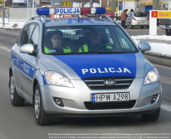 Policja Mińsk Maz.: Braliśmy udział w kampanii Jesteś widoczny jesteś bezpieczny